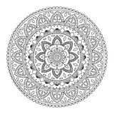 Hand drawn mandala Stock Photography
