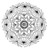 Hand-Drawn Mandala. These mandalas were fun to make. I hope you enjoy coloring them as much as I did making them Royalty Free Stock Images