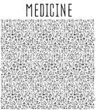 Hand drawn Medicine element Stock Photo