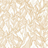 Hand drawn mountain seamless pattern Stock Images
