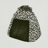 Hand drawn onigiri rice ball. Illustration Royalty Free Stock Photography