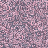 Hand drawn oriental pattern Royalty Free Stock Images