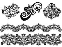 Hand drawn ornament Royalty Free Stock Photo
