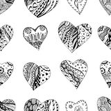 Hand drawn ornamental heart Royalty Free Stock Image