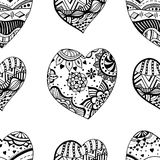 Hand drawn ornamental heart Royalty Free Stock Photos