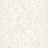 Hand drawn ornamental lace pattern for design vintage card, wedding party invitation