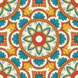 Hand drawn seamless pattern Stock Image