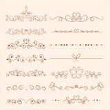 Hand drawn ornaments for invitation, congratulation and g vector illustration
