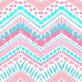 Hand drawn painted seamless pattern. illustration Stock Photos