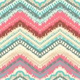 Hand drawn painted seamless pattern. illustration Stock Image