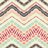 Hand drawn painted seamless pattern. illustration Stock Images