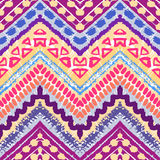 Hand drawn painted seamless pattern. illustration Stock Image