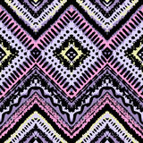 Hand drawn painted seamless pattern. illustration Royalty Free Stock Images