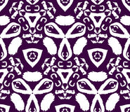 Hand drawn painted seamless pattern Royalty Free Stock Photography