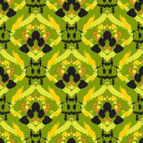 Hand drawn painted seamless pattern Royalty Free Stock Photos