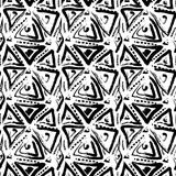 Hand drawn painted seamless pattern Royalty Free Stock Image