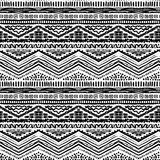 Hand drawn painted seamless pattern. Vector Royalty Free Stock Photos