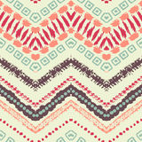Hand drawn painted seamless pattern. Vector Royalty Free Stock Image