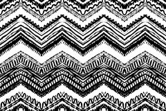 Hand drawn painted seamless pattern. Vector Stock Images