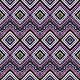 Hand drawn painted seamless pattern. Vector Royalty Free Stock Photography