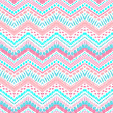 Hand drawn painted seamless pattern. Vector Stock Photography