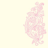 Hand Drawn Paisley ornament. Royalty Free Stock Photography
