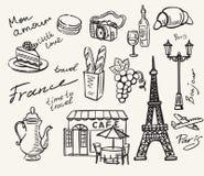 Hand drawn paris Stock Photo