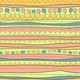 Hand drawn pattern Royalty Free Stock Photo