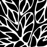 Hand drawn  pattern black and white. Hand drawn pattern black and white  to use in design textiles, wallpaper, interior decoration, wrapping paper, greeting Stock Photography