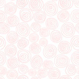 Hand-drawn pattern with circles and dots. Modern background. Stock Images