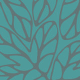 Hand drawn. Pattern turquoise to use in design textiles, wallpaper, interior decoration, wrapping paper, greeting cards etc Stock Photos