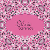Hand drawn pink abstract background Stock Photos