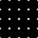 Hand Drawn Polka Dot Seamless Pattern Royalty Free Stock Image
