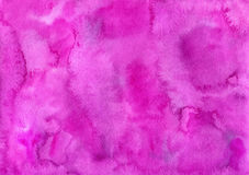 Hand drawn purple watercolor background. royalty free illustration