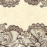 Hand drawn retro background Stock Photos