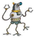 Hand drawn robot Stock Photo