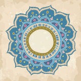 Hand drawn round ornament Royalty Free Stock Photography