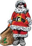 Hand Drawn Santa Stock Photos