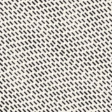 Hand Drawn Scattered Wavy Lines Monochrome Texture. Vector Seamless Black and White Pattern. Hand Drawn Scattered Wavy Lines Monochrome Texture. Abstract Royalty Free Stock Photography