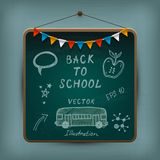 Hand-drawn school set. Royalty Free Stock Photography