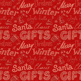 Hand-drawn seamless background texture for christmas gifts packaging Stock Photo