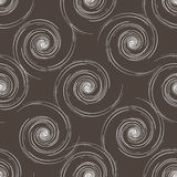 Hand drawn seamless brown and white background. Royalty Free Stock Image