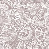 Hand-drawn seamless pattern Stock Photo