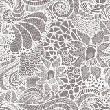 Hand drawn seamless pattern Stock Images