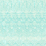 Hand drawn seamless pattern. Abstract geometric Stock Photo
