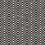 Hand drawn seamless pattern. Abstract geometric tiling background in black and white. Vector stylish doodle line lattice Stock Image