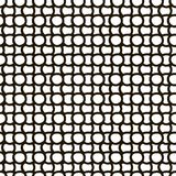 Hand drawn seamless pattern with circles Stock Image