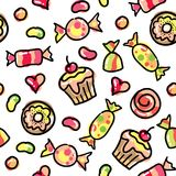 Funny candies Royalty Free Stock Images