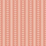 Mud Cloth Pink Seamless Pattern. Hand Drawn Seamless Pattern inspired by mud clothtextile Royalty Free Stock Photo
