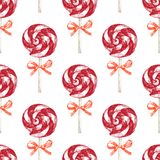 Hand drawn seamless pattern Stock Photography
